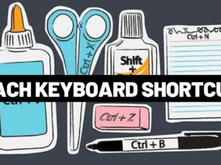 visual keyboard shortcuts printable