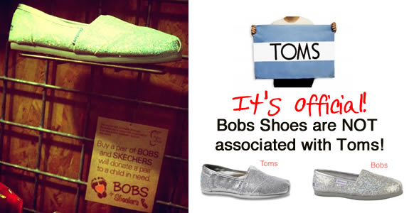 toms shoes not bobs shoes