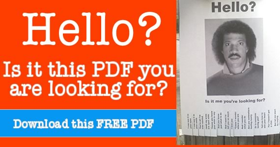photo of lionel richie headshot hanging on post hello is it me you are looking for printable