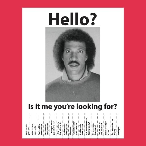 hello is it me you are looking for thm