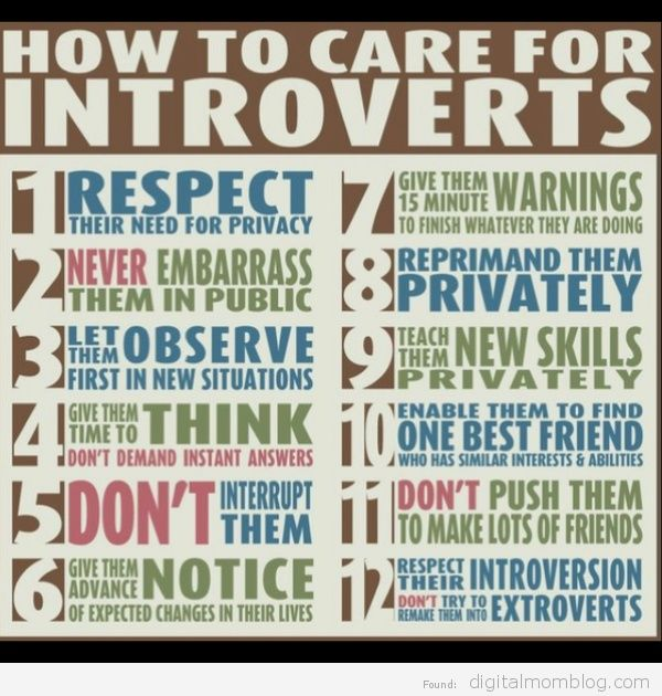 caring for introverted children
