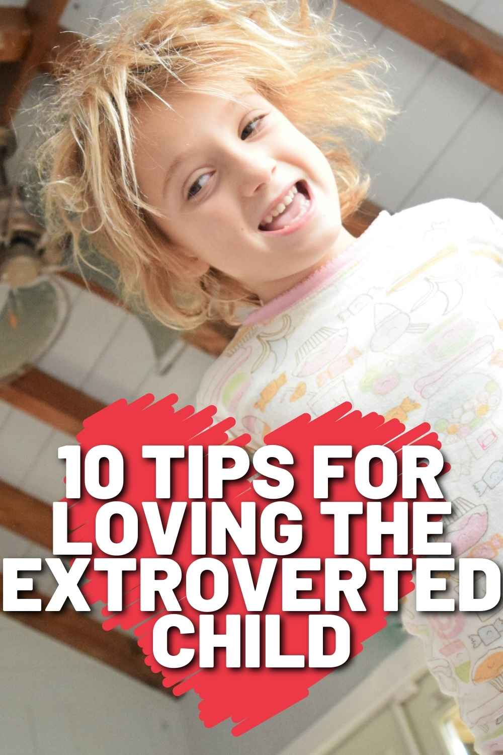 extroverted child