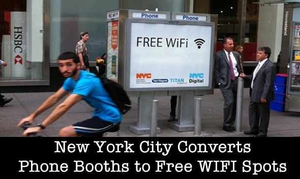 phone booth free wifi hotspots in nyc
