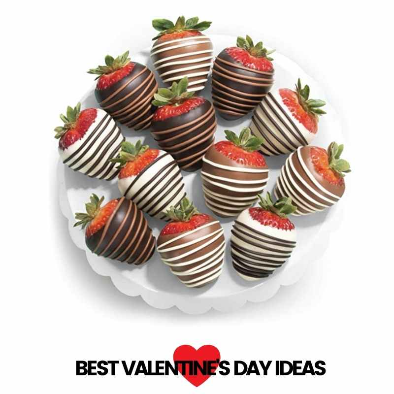 chocolate covered strawberries – valentines day ideas