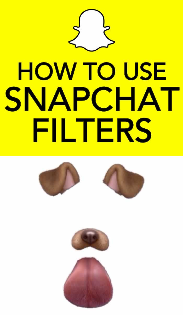 how to use snapchat geofilters