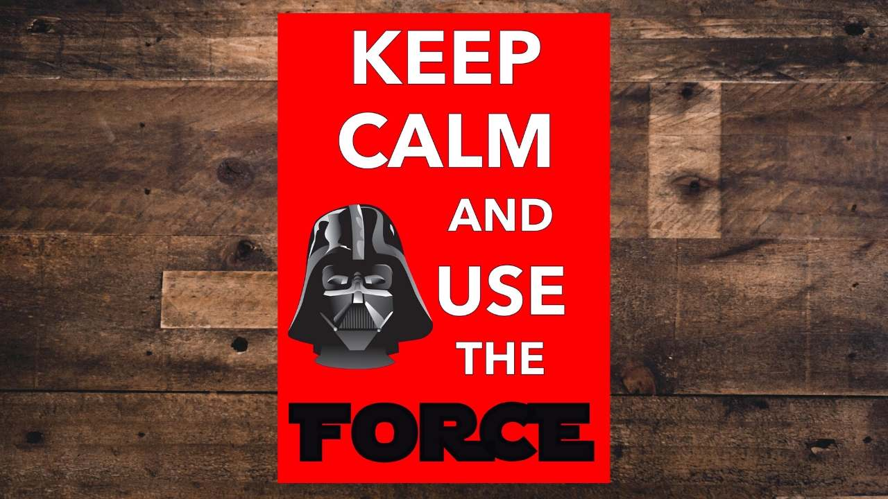use the force printable