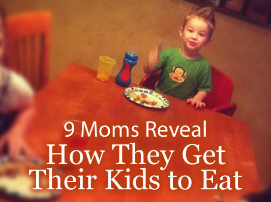 how to get kids to eat