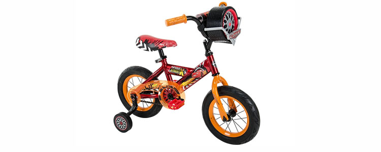 Disney Cars Bicycle For Toddlers with training wheels