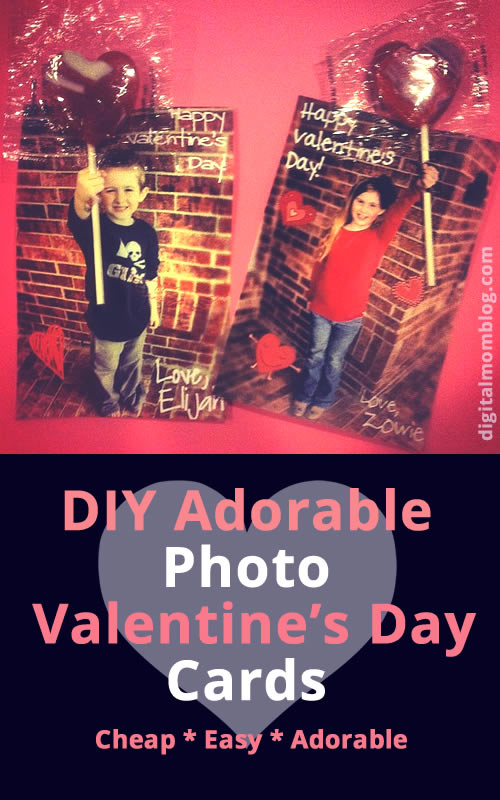 photo valentines day card