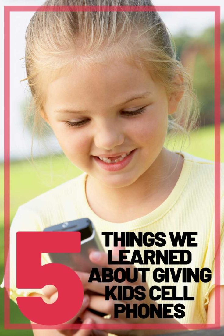 tips kids cell phones