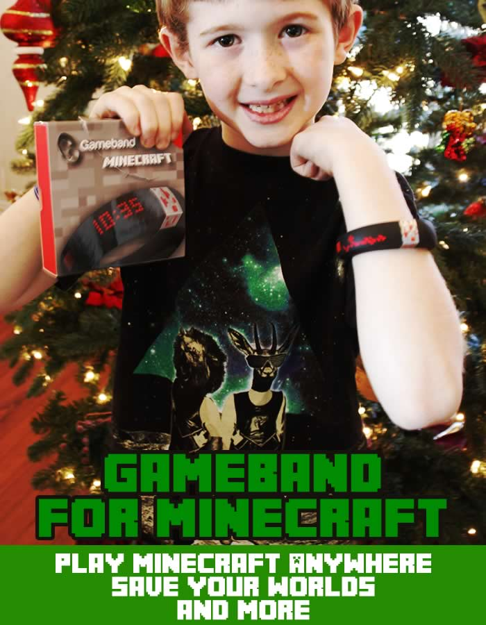 Portable Minecraft with Gameband