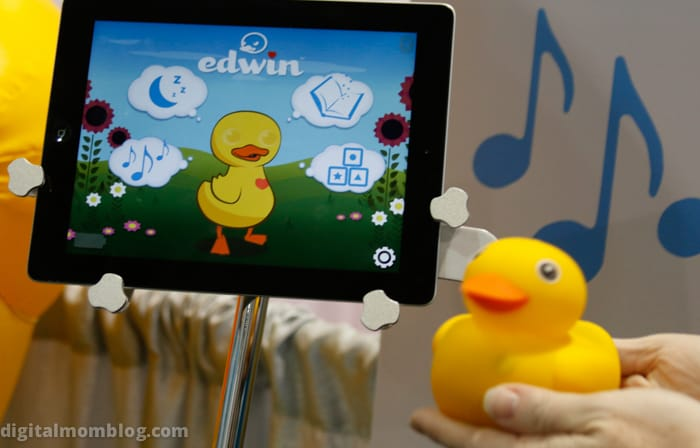 Edwin Interactive Duck Toy CES 2015