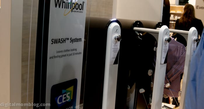 whirlpool swash in home dry cleaning - ces 2015 recap