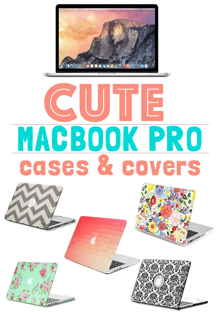 Cute Macbook Pro Cases and Cover