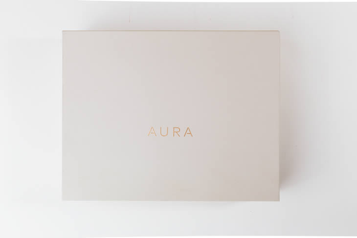Aura Digital Photo Frame Packaging