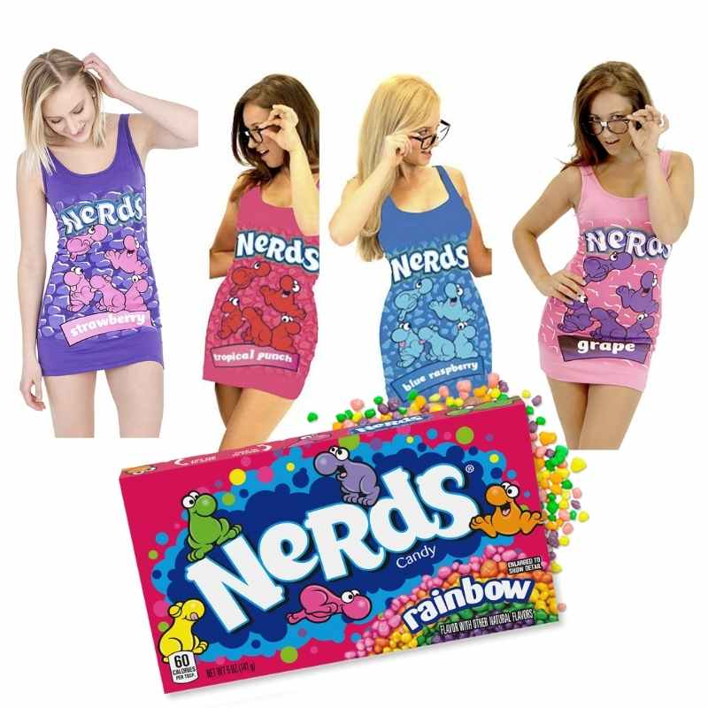 nerds costumes for women
