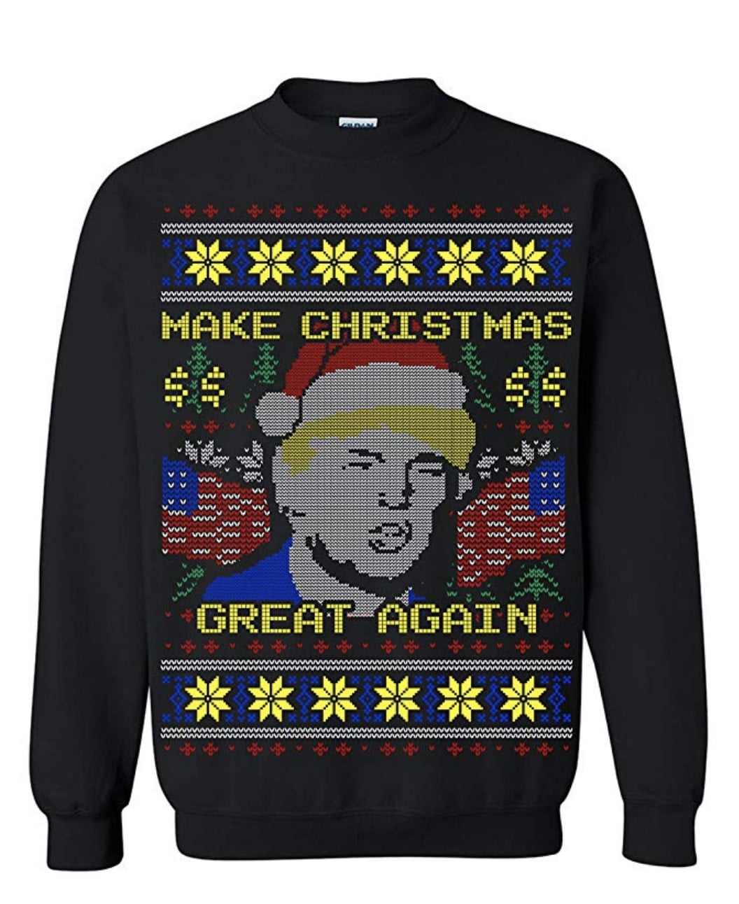 Donald Trump Ugly Christmas Sweaters
