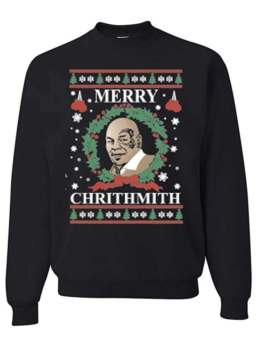 Mike Tyson Ugly Christmas Sweater