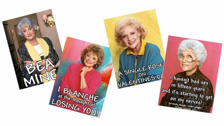 | Golden Girls Valentines