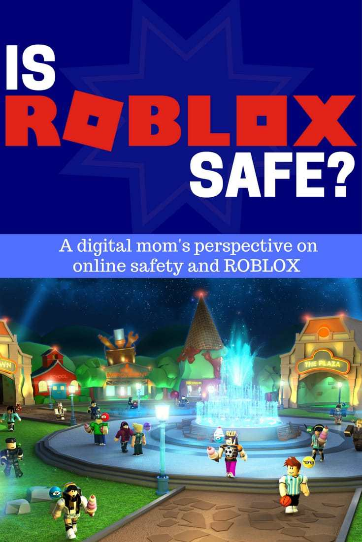 Roblox Online game scene - is roblox safe