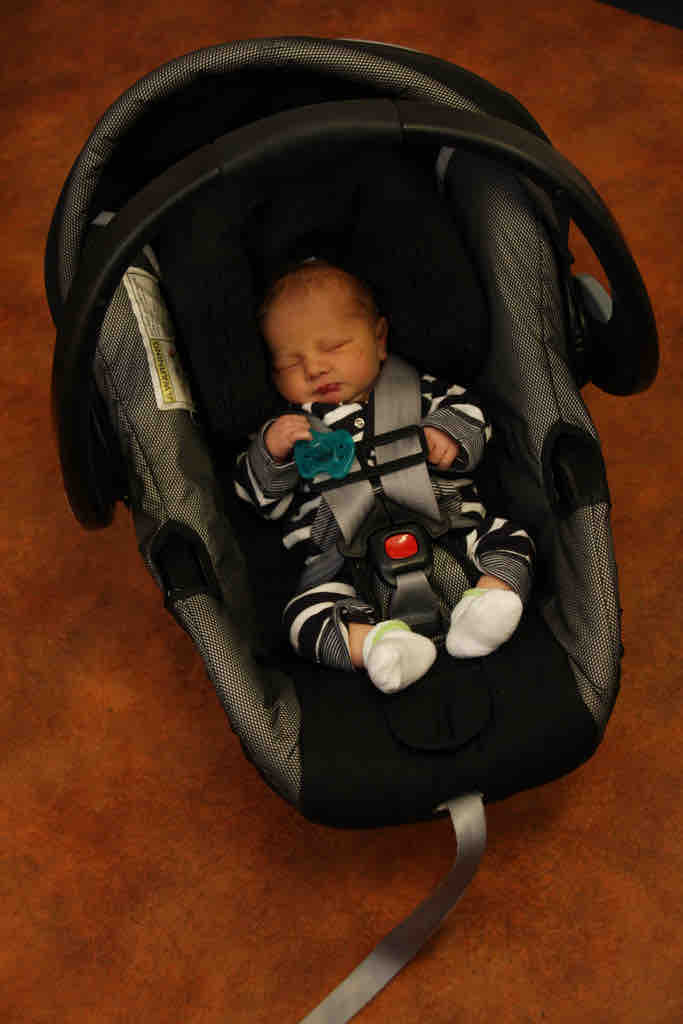 infant car seat is a baby registry list must have
