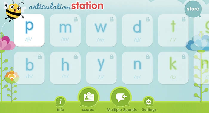 articulation station - speech therapy app