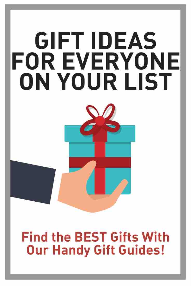 Gift Ideas for everyone on your list - find the best gifts with our handy gift guide