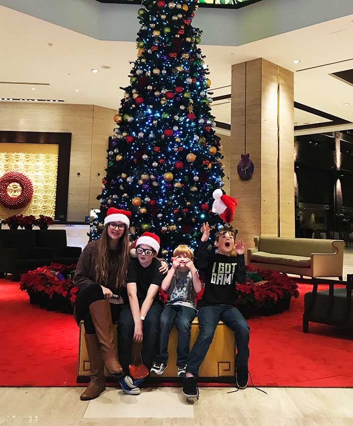 | Christmas at the Anatole Review - Peppermint Park, Movie Night, Breakfast with Santa and MORE!