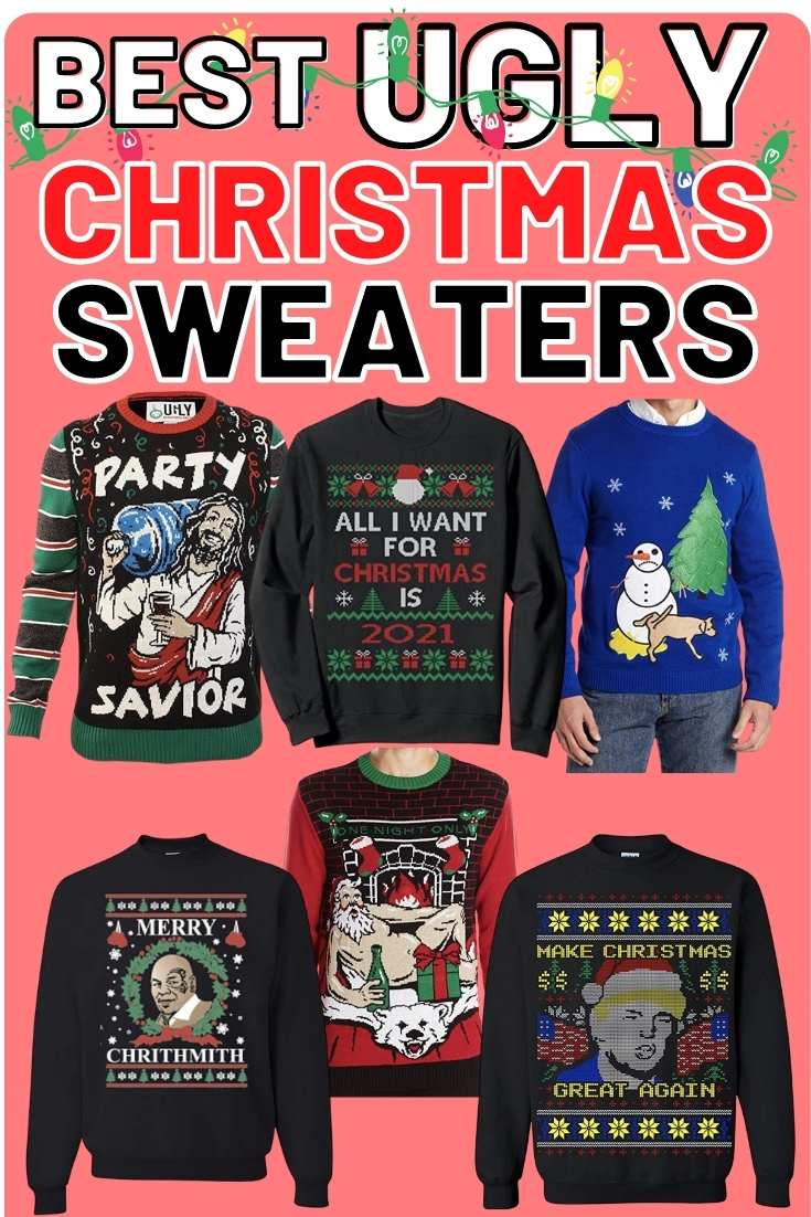 ugly christmas sweaters 2020