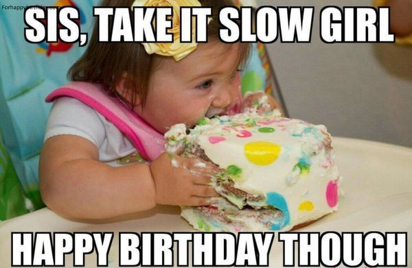 enjoy the birthday cake meme