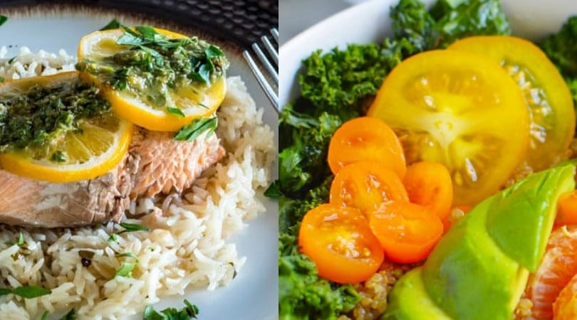 healthy instant pot recipes with rice salmon quinoa and more