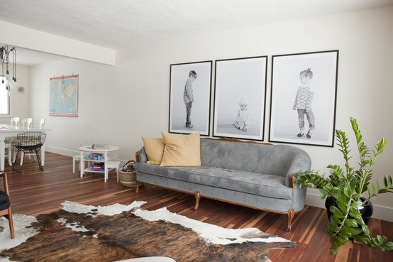 Oversized Photos on the Wall