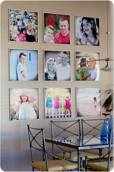Square Photo Canvases
