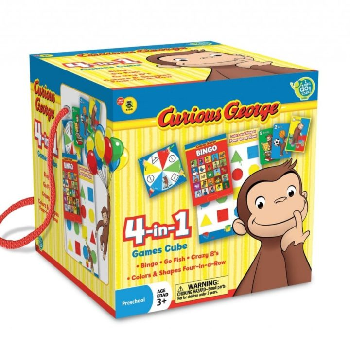 Curious George Travel Game