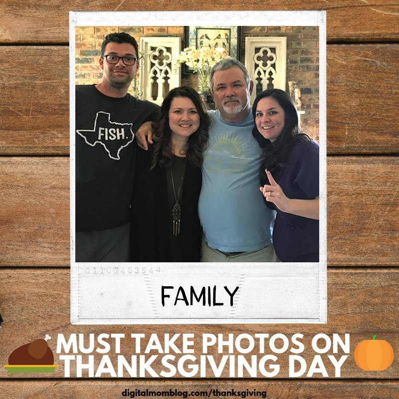 pictures of the family on thanksgiving day