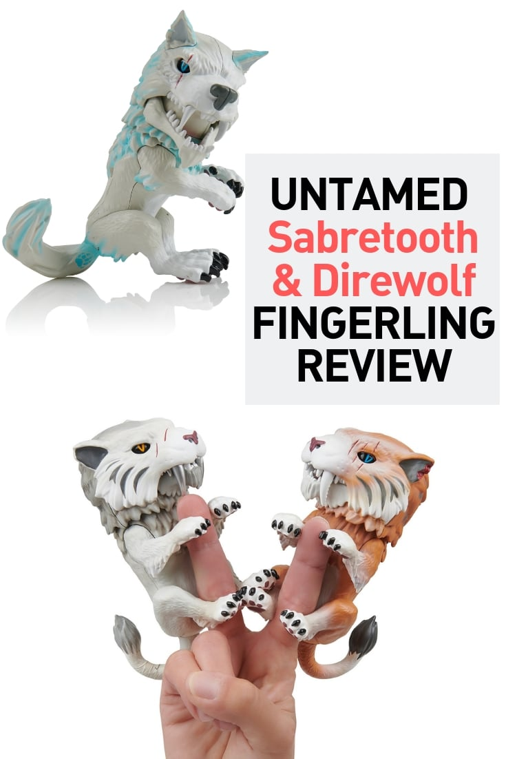 sabretooth tiger fingerling untamed direwolf fingerling review