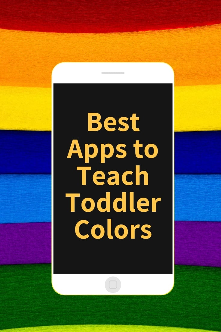 best apps to teach toddler colors