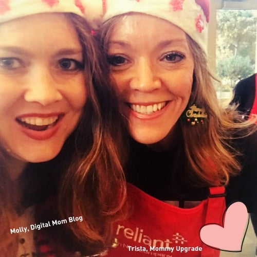 Digital Mom Blog and Mommy Upgrade competing in Reliant Gingerbread Challenge 2018