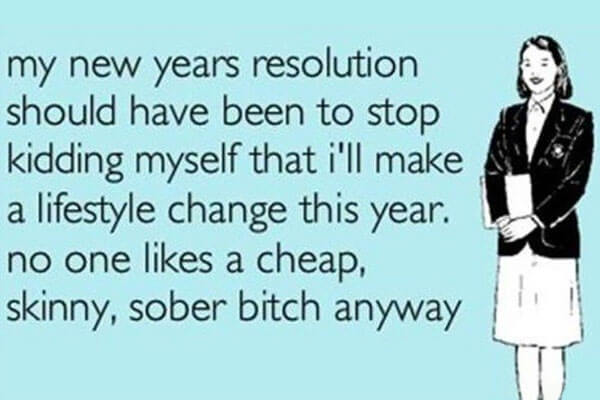 new years resolutions meme no new year resolution should have been to stop kidding myself that i'll make a lifestyle change this year