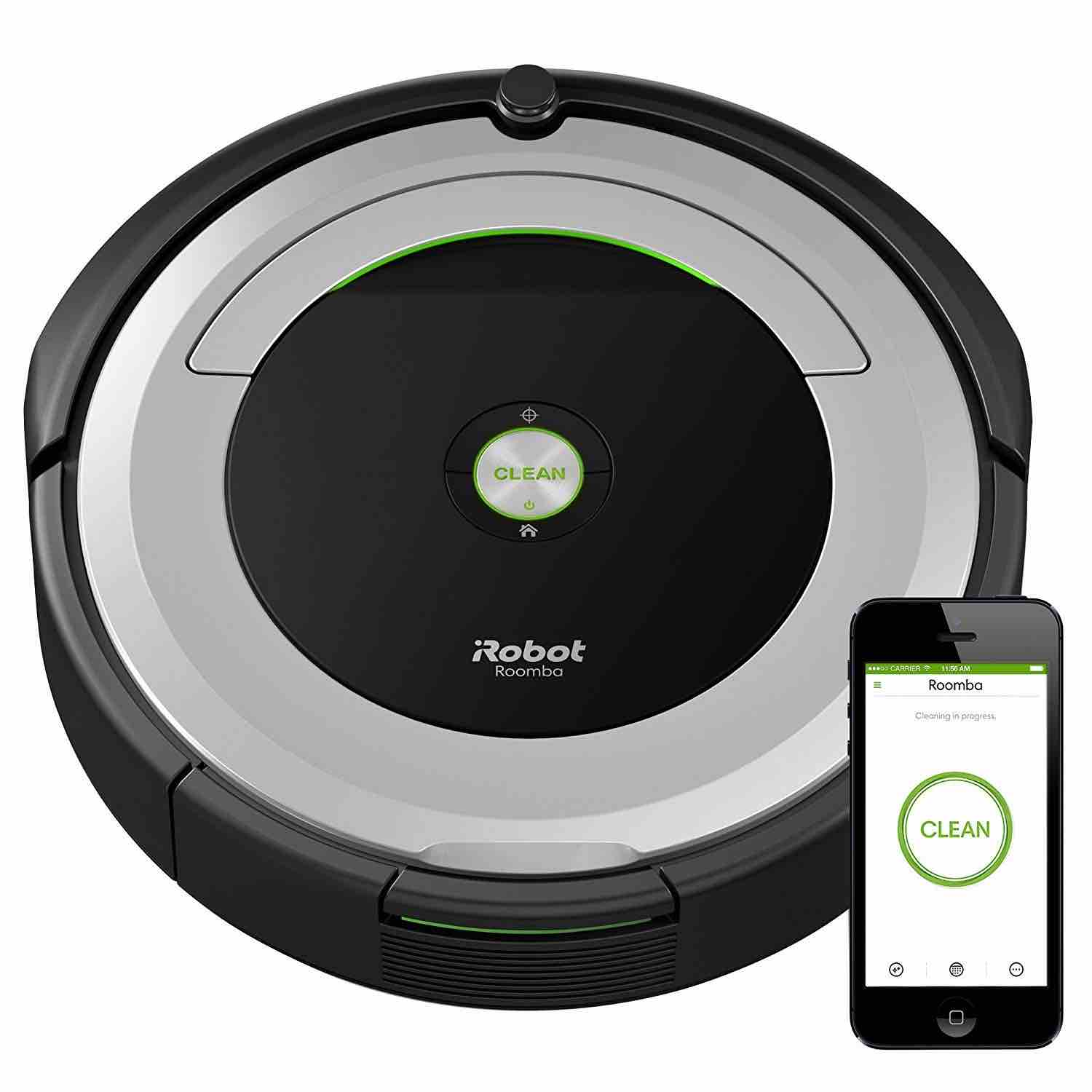 irobot 690 google home google assistant