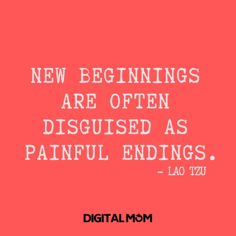 New beginnings are often disguised as painful endings. - Lao Tzu monday motivation quote