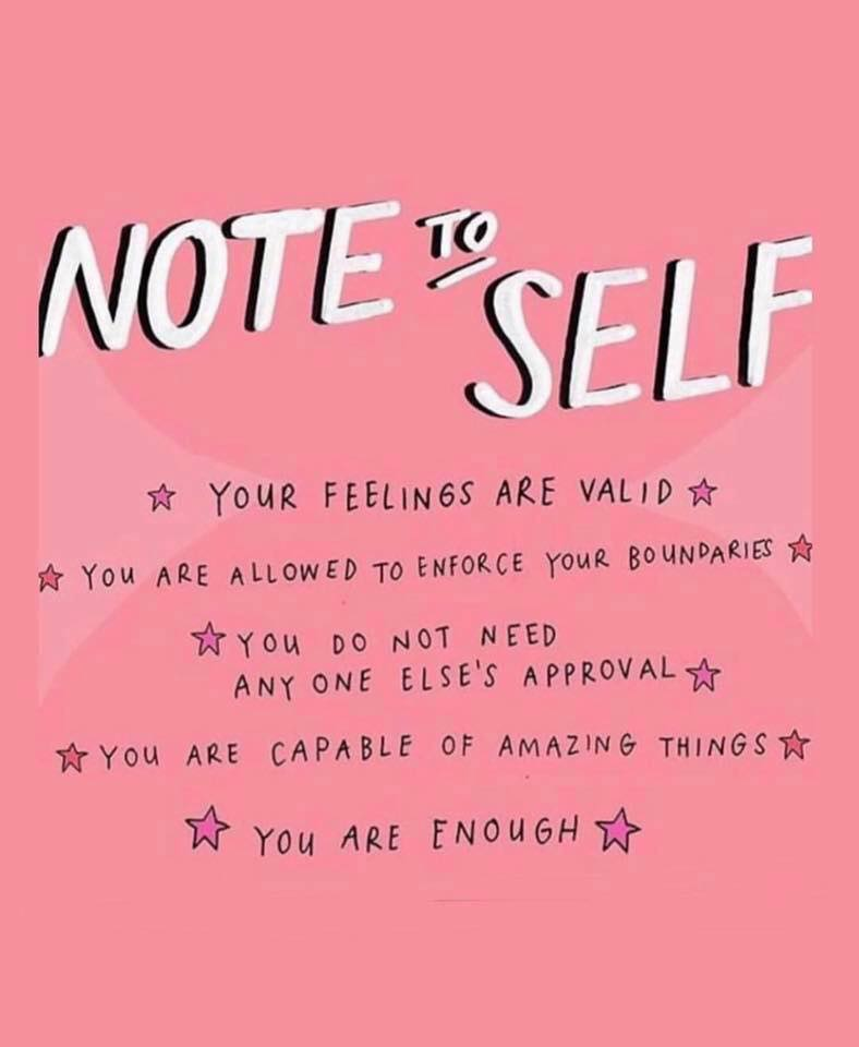 motivational monday quote - note to self