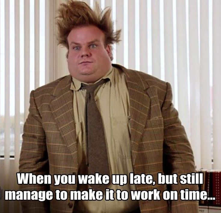 Work Memes - when you are late to work