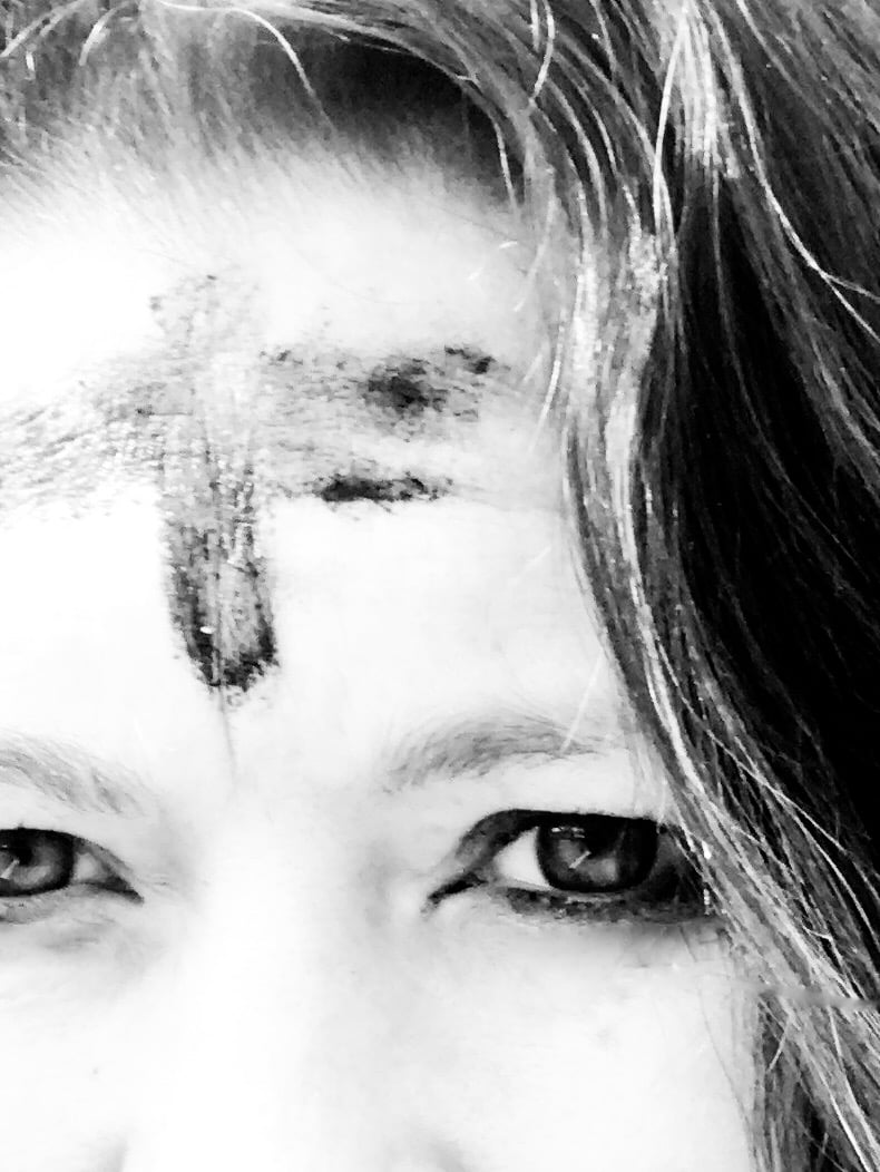 ashes forehead ash wednesday