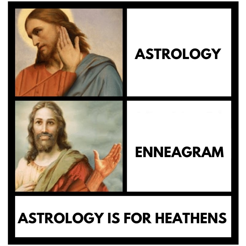 astrology christian enneagram -meme