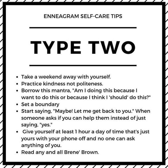 enneagram type 2 helper