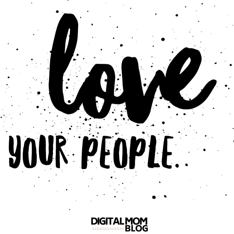 love your people friendship quote finding your people