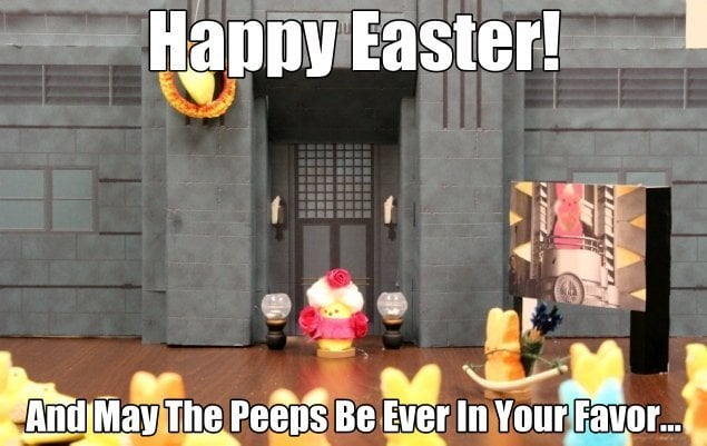 happy easter images hunger games
