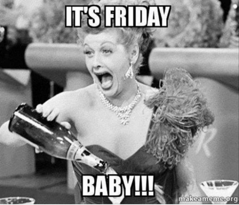 its friday baby i love lucy meme