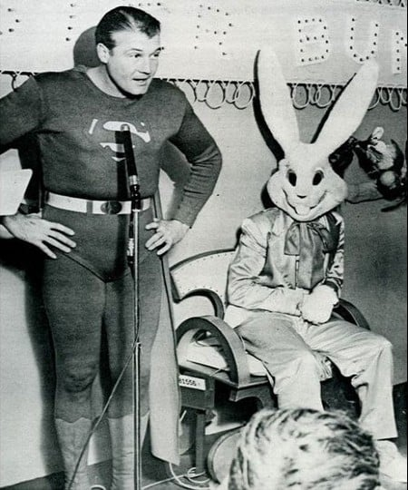 old bunny costume